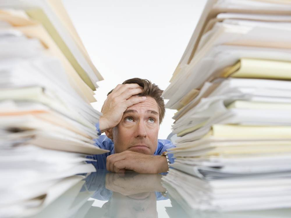 Behind Bookkeeping And Feeling Overwhelmed